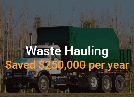 Waste Hauling Reverse Auction